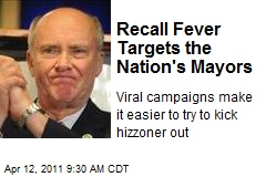 Recall Fever Targets the Nation's Mayors