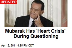Hosni Mubarak Hospitalized on Day He Was Due for Questioning About Corruption