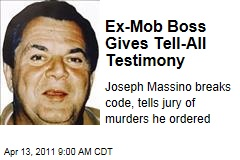 Mob Boss Joseph Massino Testifies Against Vincent Basciano