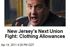 New Jersey's Next Union Fight: Clothing Allowances