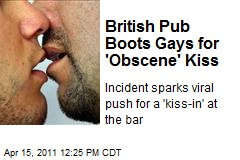 British Pub Boots Gays for 'Obscene' Kiss