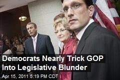 Democrats' Legislative Trick Results in House Drama