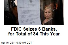 FDIC Closes 6 More Banks, Including Superior in Alabama