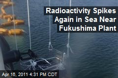 Radioactivity Spikes Again in Sea Near Fukushima Plant