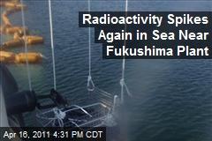 Radioactivity Spikes Again in Sea Near Fukushima Plant