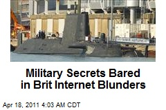Military Secrets Bared in Brit Internet Blunders
