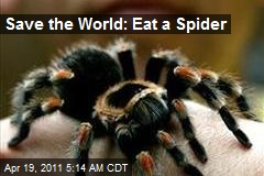 Save the World: Eat a Spider
