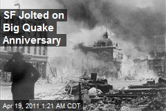 SF Jolted on Big Quake Anniversary