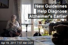 New Guidelines Help Diagnose Alzheimer's Earlier