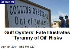 Gulf Oysters' Fate Illustrates 'Tyranny of Oil' Risks