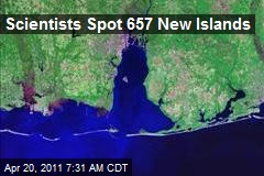 Scientists Spot 657 New Islands