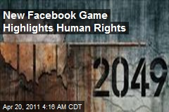 New Facebook Game Highlights Human Rights