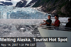 Melting Alaska, Tourist Hot Spot