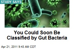 You Could Soon Be Classified by Gut Bacteria