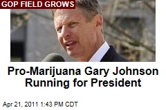 Libertarian Gary Johnson Will Run for President, Wants to Legalize Pot