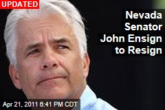 Nevada Senator John Ensign Will Resign on Friday