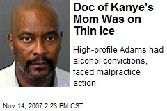 Doc of Kanye's Mom Was on Thin Ice