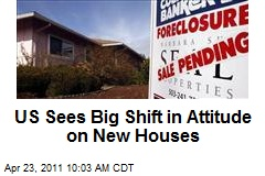 US Sees Big Shift in Attitude on New Houses