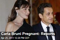 Carla Bruni Pregnant: French Reports Wife of Nicolas Sarkozy Having Baby