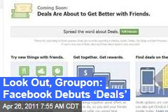 Facebook Deals Launches, Targets Groupon, LivingSocial