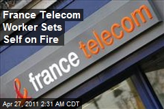 Latest France Telecom Suicide Sets Self Afire