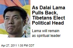 Tibet in Exile Elects Lobsang Sangay to Replace Dalai Lama as Political Leader