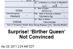'Birther Queen' Orly Taitz Not Convinced By Obama Birth Certificate