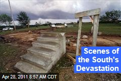 Southern Storms: Photos of the Tornadoes' Devastation