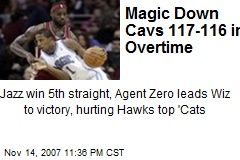 Magic Down Cavs 117-116 in Overtime