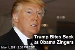 Donald Trump Bites Back at President Obama's White House Correspondents' Dinner Zingers