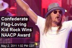 Confederate Flag-Loving Kid Rock Wins NAACP Award