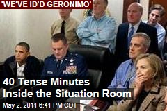 Obama Situation Room: Inside the Tense 40 Minutes as President Monitored Raid on Osama bin Laden