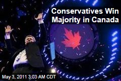 Stephen Harper's Conservatives Win Majority in Canada