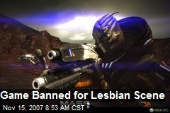 Game Banned for Lesbian Scene