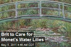 Brit to Care for Monet's Water Lilies
