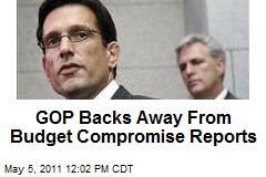 GOP Backs Away From Budget Compromise Reports