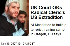 UK Court OKs Radical Cleric's US Extradition