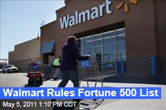 Fortune 500 List: Walmart, Exxon Mobil Again Top the List