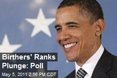 Birthers' Ranks Plunge: Poll