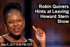 Robin Quivers: Howard Stern Sidekick Pitching Her Own TV Show
