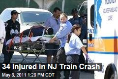 Hoboken, NJ, Train Crash Injures 34