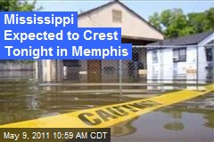 Mississippi Expected to Crest Tonight in Memphis