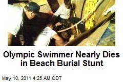Swimmer Nearly Dies in Beach Burial Stunt