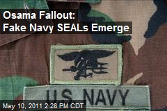 Osama Fallout: Fake Navy SEALs Emerge