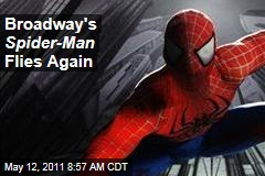 Broadway's 'Spider-Man' Flies Again, Reopening Tonight