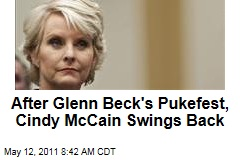 Meghan McCain 'Naked' PSA Makes Glenn Beck Vomit; Cindy McCain Swings Back on Twitter
