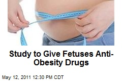 Study to Give Fetuses Anti-Obesity Drugs