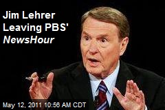 Jim Lehrer Leaving PBS' NewsHour