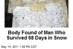 Man's Body Found After 68 Days Stuck in Snow