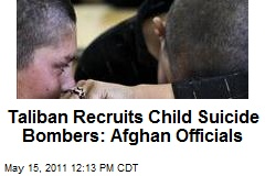 Taliban Recruits Child Suicide Bombers: Afghan Officials